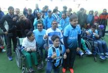 No dia 28/04 realizamos mais uma visita emocionante das crianças do Desejo Azul na Arena. Desta vez contamos com a presença total da APAE de Estância Velha, crianças da Kinder e da AACD, bem como a participação do voluntário Maicon Bastos Fink.