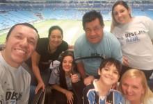 Agora recuperado, Lucas queria ir ver o Grêmio jogar na Arena. Era um grande sonho seu e dos seus pais. E com a colaboração dos voluntários Taílson Rigon, Bruna Pereira Rigon, Emily Rigon e Lunardo e Glaci Riigon Lucas e seus pais foram assistir Grêmio x Avenida e ver o Tricolor chegar a mais uma final de Gauchão