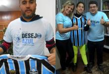 Milena faz acompanhamento na APAE de Encantado. É uma apaixonado pelo Tricolor. Seja qual for o resultado, Milena está lá firme e forte vibrando como sempre . Milena ganhou sua camiseta oficial do Grêmio com a colaboração dos voluntários Rober Quinto Gonzatti ( Encantado ) e André Pires ( Porto Alegre)