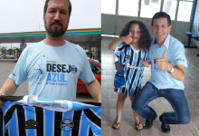 A menina Maria Eduarda faz acompanhamento na APAE de Encantado. Seu desejo como boa tricolor que é: ganhar a camiseta oficial do Grêmio. E com a colaboração dos voluntários Cláudio Medeiros em Porto Alegre e Sadi FeldKircher em Encantado a querida gremista irá assistir a Libertadores vestindo a camiseta do Rei de Copas.